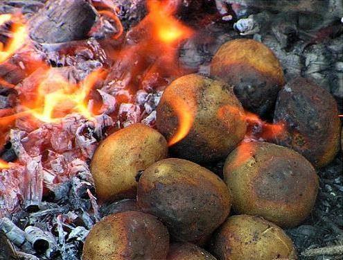 Про печену картоплю