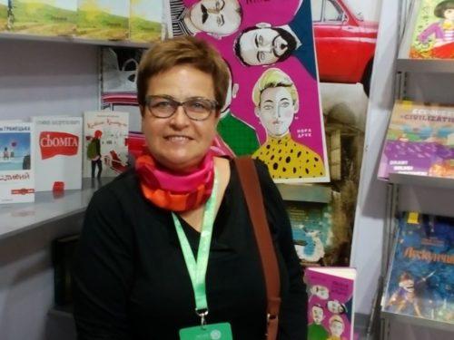 Марина Гримич розповідає про українську участь в книжковому ярмарку в Абу-Дабі