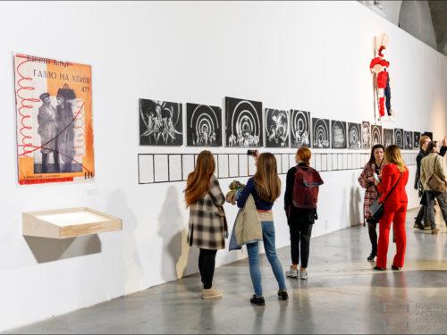День відкритих дверей на виставці «Курбас: Нові світи» в Мистецькому Арсеналі