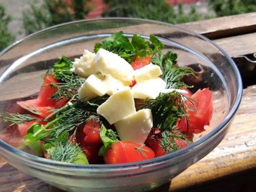 І про салат