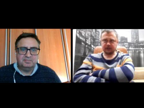 Про стосунки автор-видавець. Розмова-8 Миколи Кравченка та Андрія Кокотюхи. 14.04.2021